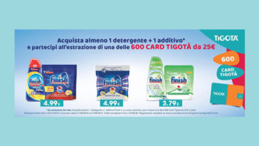 Vinci card Tigotà 2019 con Finish
