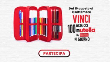 Vinci 100 astucci Nutella By Seven al giorno