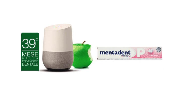 39mo mese della Prevenzione Dentale Mentadent: vinci Google Home