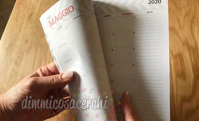 Agenda Pocket 2020 omaggio