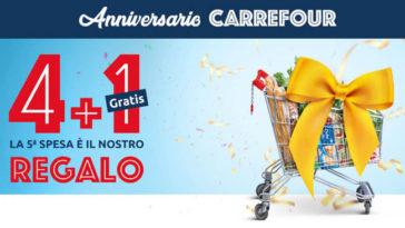 Anniversario Carrefour spesa gratis