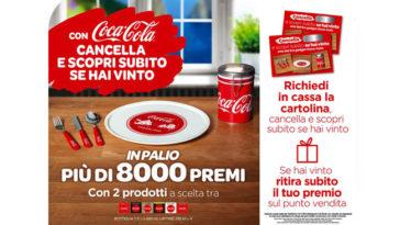 Cancella e vinci con Coca-Cola