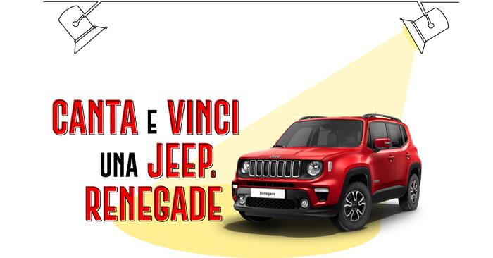 Carglass: vinci Jeep Renegade