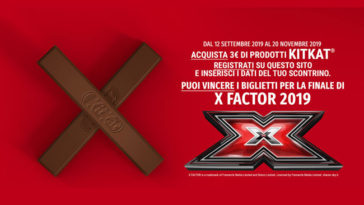 Concorso KitKat Xfactor