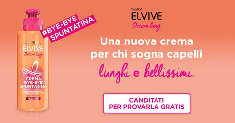 Diventa tester Elvive Dream Long di L'Oreal