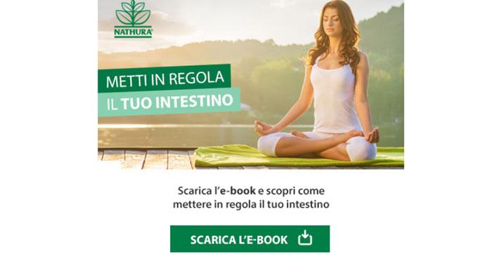 """E-book gratuito """"Metti in regola il tuo intestino"""""""