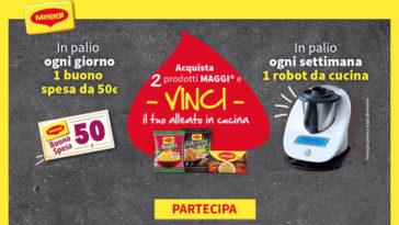 """""""Maggi e vinci"""" buoni spesa e Bimby TM6!"""