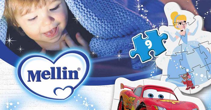 Mellin regala puzzle Clementoni