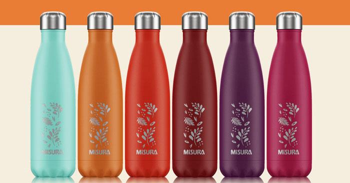 Misura: vinci gratis bottiglie Misura by Chilly's