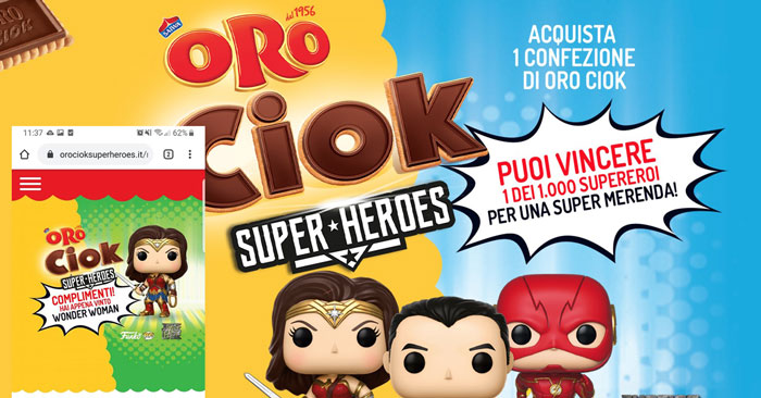 Oro Ciok Super-Heroes