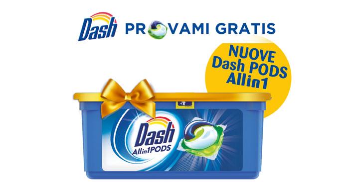 Prova gratis Dash Pods Allin1