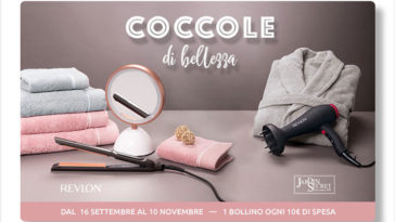 "Raccolta bollini Carrefour ""Coccole d bellezza"""