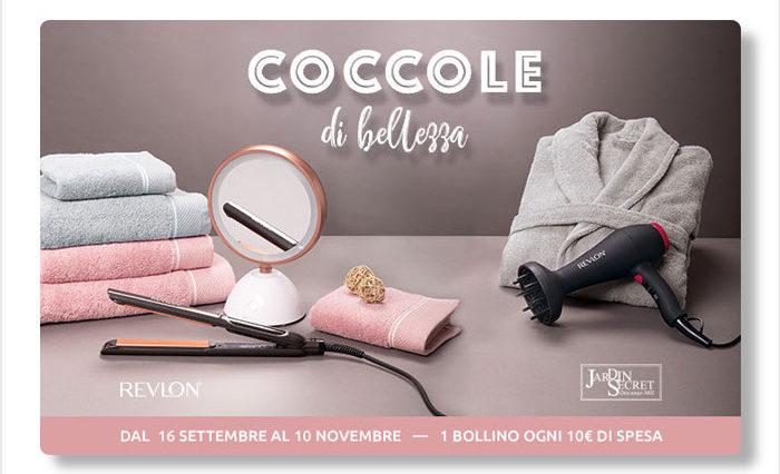 """Raccolta bollini Carrefour """"Coccole d bellezza"""""""