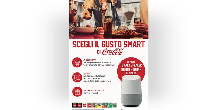 Scegli il gusto Smart di Coca-Cola