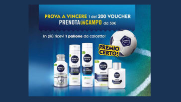 Scendi in campo con Nivea Men