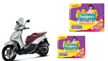 Vinci Scooter Liberty con Pampers