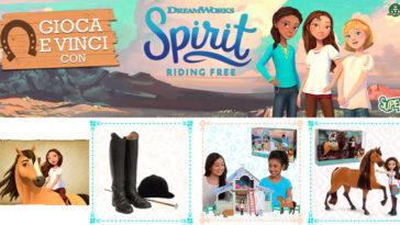 Super! Vinci con Spirit Riding free