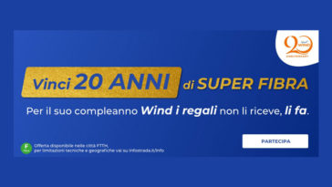 Vinci 20 anni di superfibra Wind