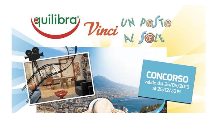 """Vinci """"Un posto al sole"""" Equilibra"""