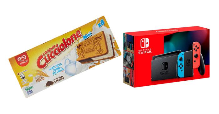 Cucciolone Algida: vinci Nintendo Switch
