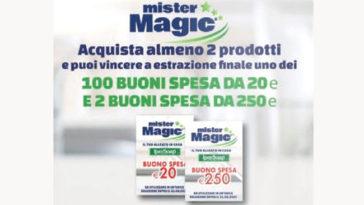 Acquista e vinci con Mister Magic