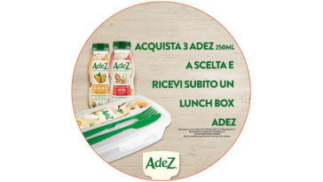 AdeZ Lunch box omaggio