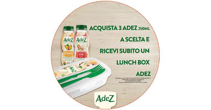 AdeZ Lunch box omaggio