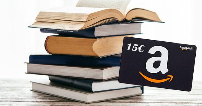 Amazon: 15 euro acquistando 50 euro di libri universitari