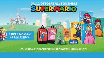 Auchan: collezzione Super Mario