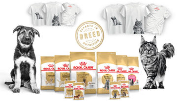 Breed Royal Canin t-shirt omaggio