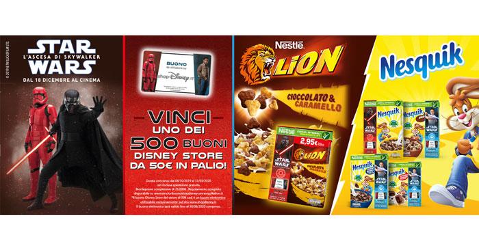 Concorso Cereali Nesquik e Lion – STAR WARS