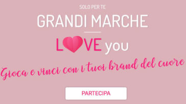 """Concorso """"Grandi marche"""" Donna Moderna"""
