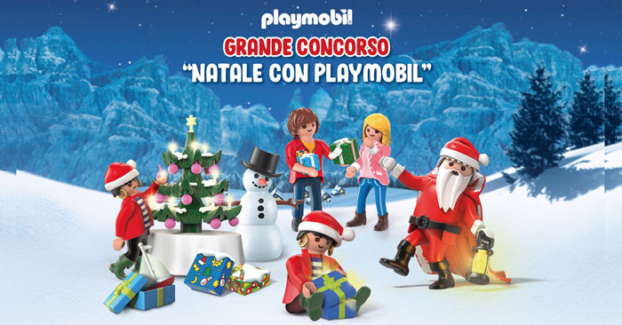"Concorso ""Natale con Playmobil"""