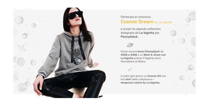Concorso Pennyblack Cosmic Dream