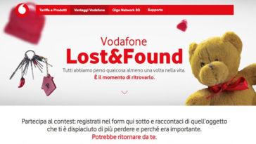 """Contest Vodafone """"Lost&Found"""""""
