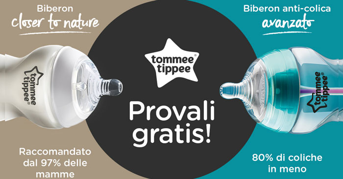 Diventa tester biberon Tommee Tippee