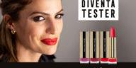 Diventa tester rossetto e mascara Max Factor Colour Elixir e Rise&Shine