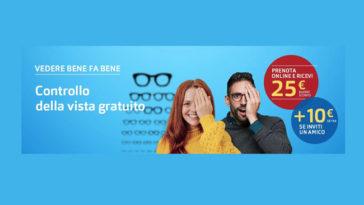 Grand Vision controllo vista gratuito