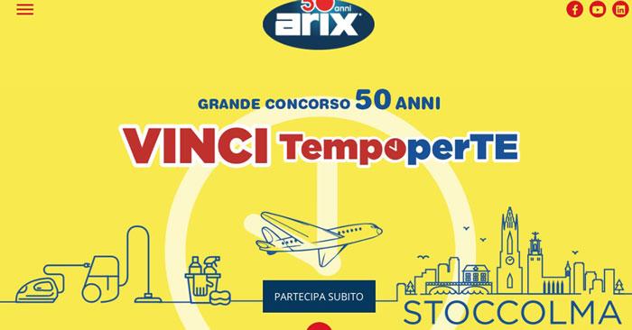 Grande concorso 50 anni Arix