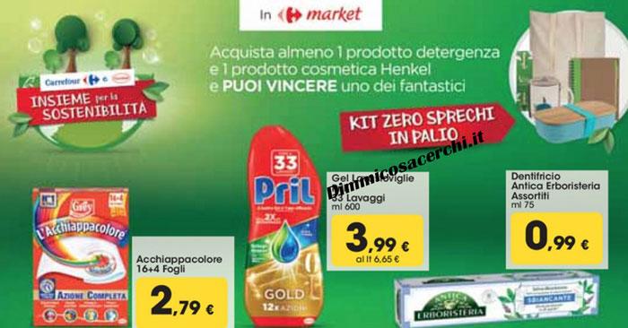 Henkel: vinci kit 0 sprechi