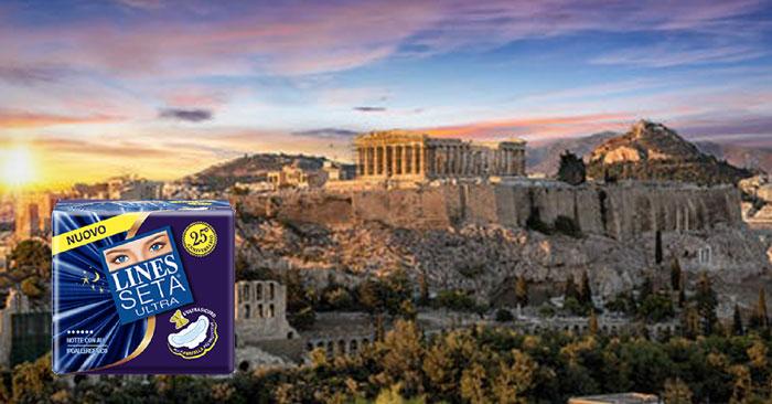 Lines: vinci un viaggio ad Atene per 2 persone