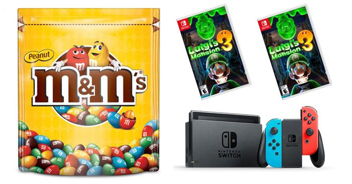 M&M's: gustati un gioco da paura!