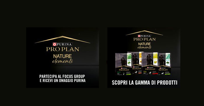 Omaggio Purina Pro Plan Nature Elements
