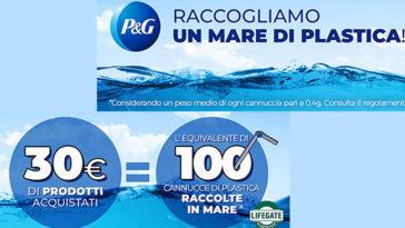 P&G: raccogliamo un mare di plastica