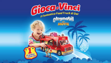 Pampers: vinci Food Truck Playmobil