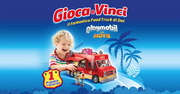 Pampers: vinci Food Truck Playmobil