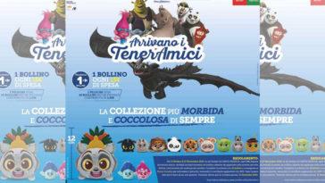 Peluche TenerAmici da Carrefour Sicilia