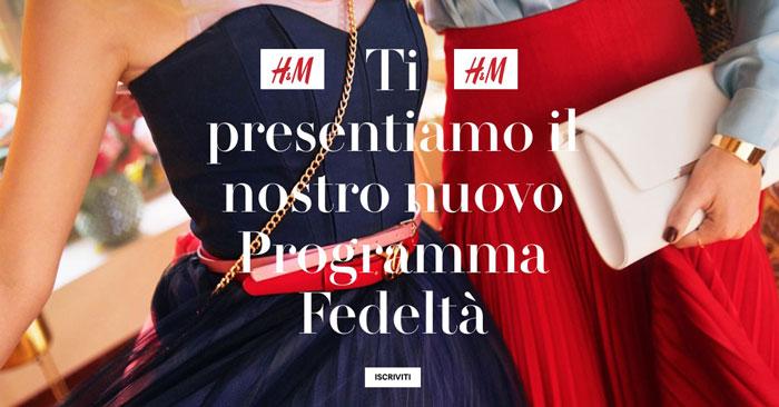 Programma feldetà Hello H&M Member