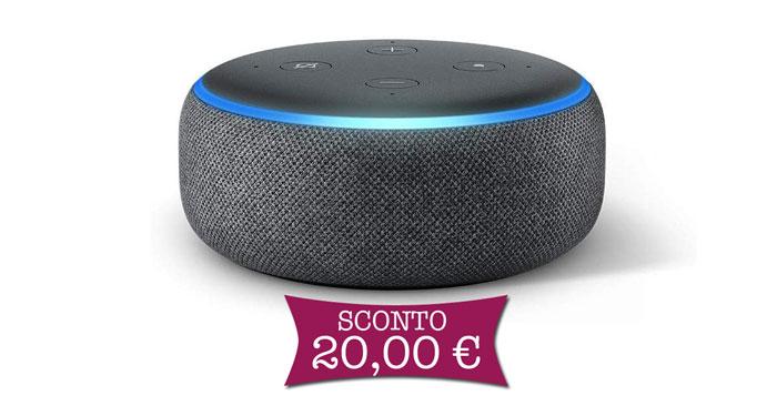 Risparmia 20€ su Echo Dot