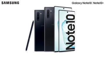 Samsung Galaxy Note10 e Note10+: diventa tester